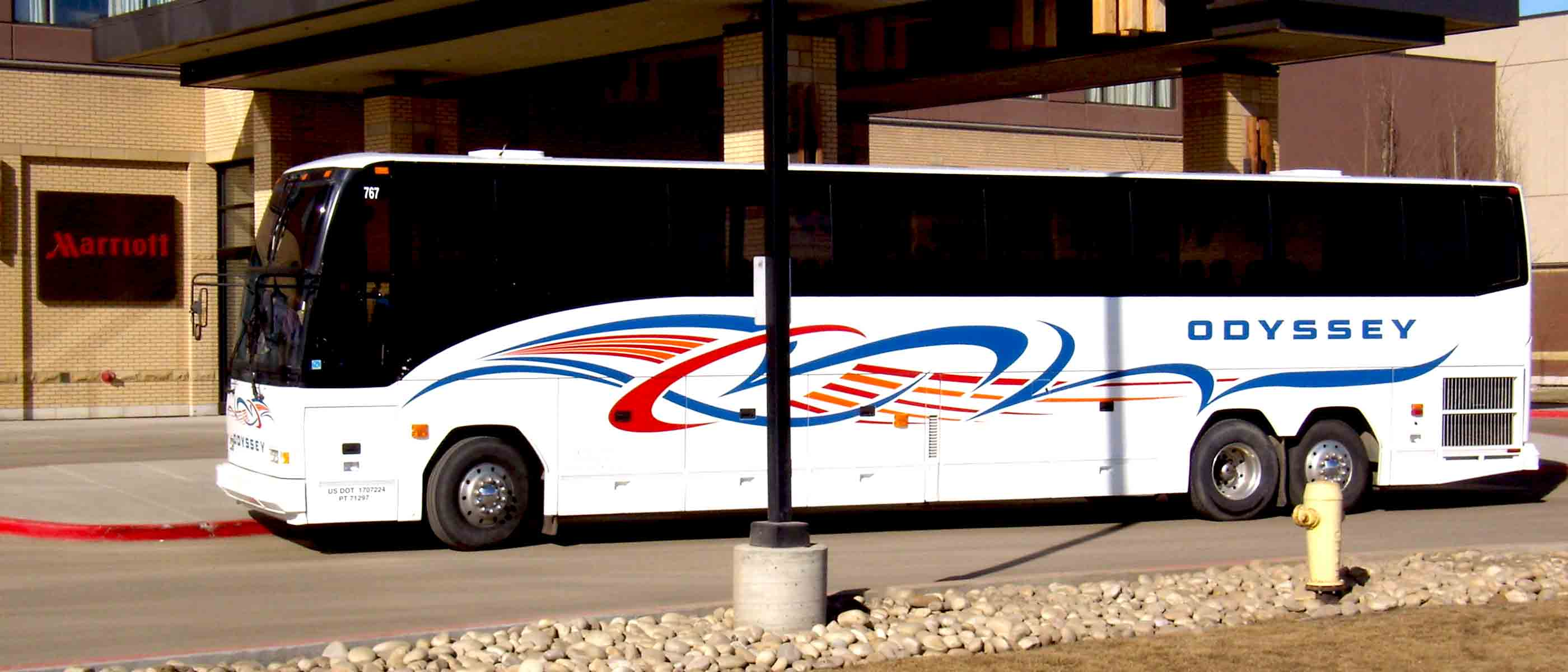 Saskatchewan Bus Charter and Tour Company - Odyssey Coach Lines